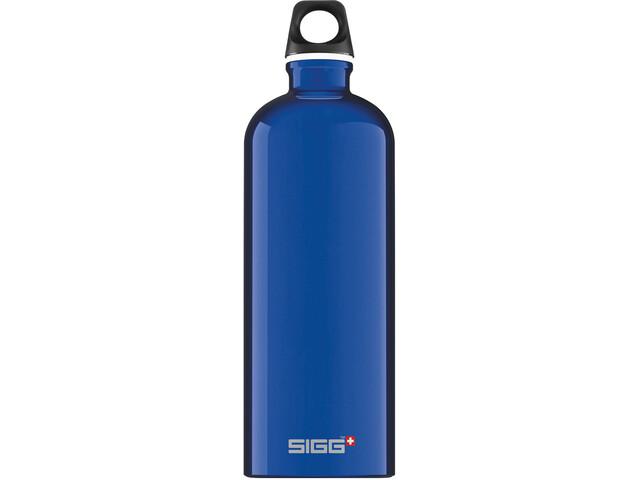 Sigg Traveller Alutrinkflasche 1l blue